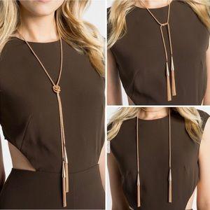Kendra Scott Phara Rope Necklace - Gold